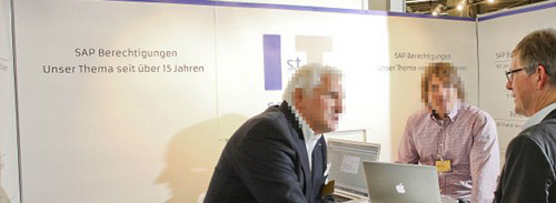 1st IT-Services Messestand